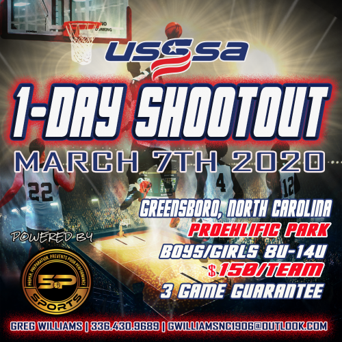 5P Sports : USSSA 1 Day Shootout