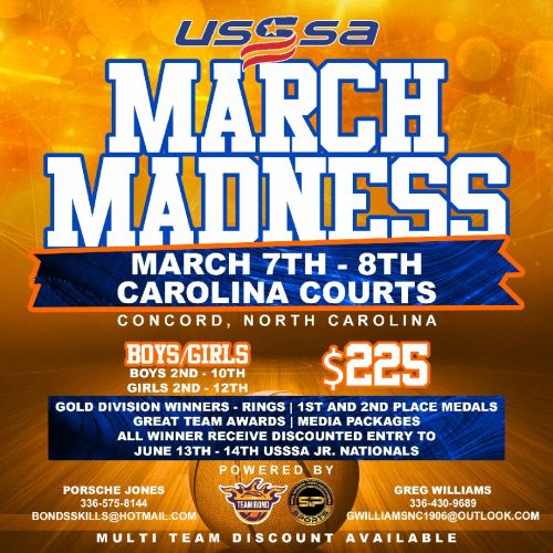 5p Sports : USSSA March Madness